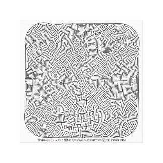 Cellules de division - une création de Blaise Toile