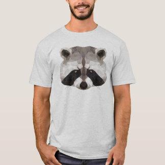Cendre de T-shirt d'homme de raton laveur