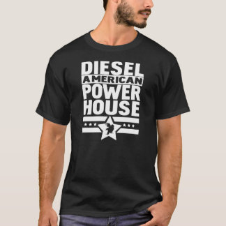 Centrale électrique diesel américaine t-shirt