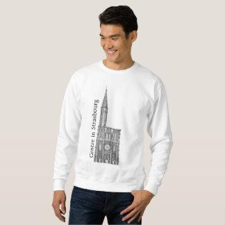 Centre dans le sweatshirt de Strasbourg
