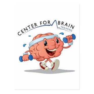Centre pour la carte postale de formation de