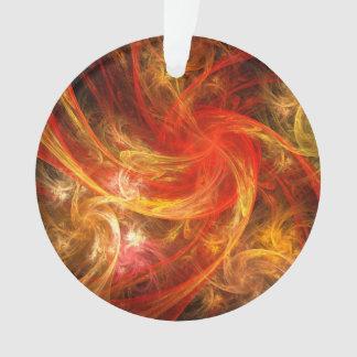 Cercle d'acrylique d'art abstrait de nova de