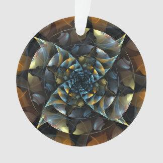 Cercle d'acrylique d'art abstrait de soleil