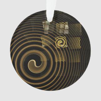 Cercle d'acrylique d'art abstrait d'hypnose