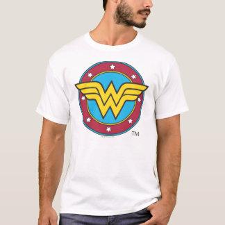 Cercle de la femme de merveille | et logo t-shirt