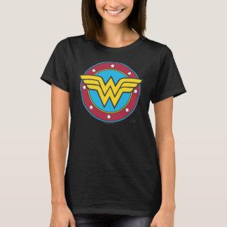 Cercle de la femme de merveille   et logo t-shirt