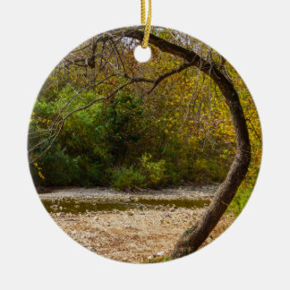 Cercle de natures ornement rond en céramique
