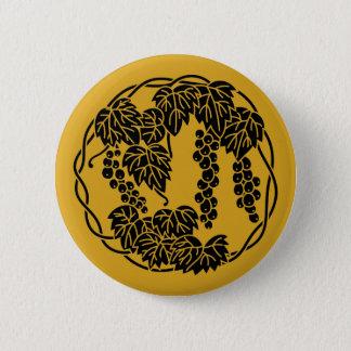 Cercle de raisins badge rond 5 cm
