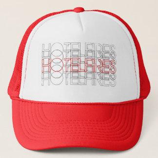 Cercles de casquette de camionneur de HotelFires