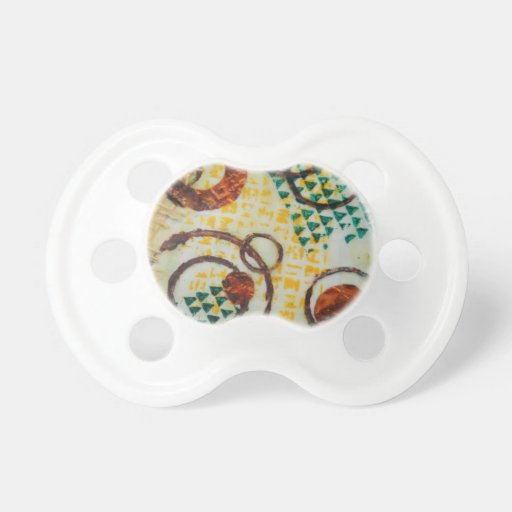 Cercles de zoulou sucette pour bébé