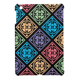 Cercles et couverture abstraits colorés d'ipad de  coque iPad mini
