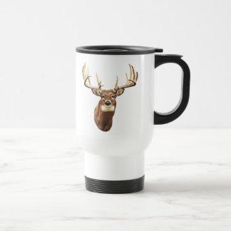 Cerfs communs de mule mug de voyage