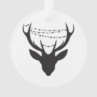 Cerfs communs de Noël * ornement de Noël * arbre
