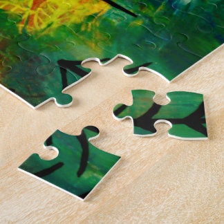 Cerfs-volants rouges de puzzle du Pays de Galles