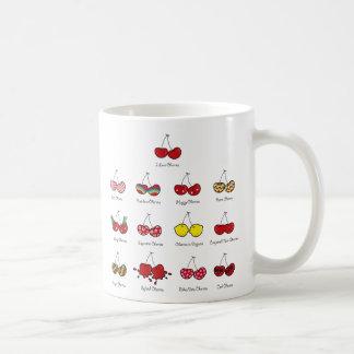 Cerise rouge effrontée drôle comique de cerises mug