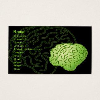 Cerveaux obtenus ! cartes de visite