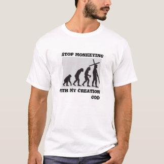 Cessez de monkeying… le T-shirt
