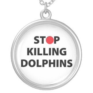Cessez de tuer des animaux de Taiji de Japonais du Collier