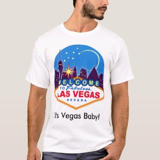 C'est bébé de Vegas ! Le T-shirt des hommes