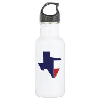 C'est bouteille d'eau de fierté du TEXAS de TEMPS