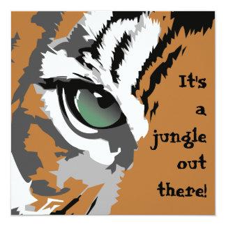 C'est des invitations d'un tigre de jungle