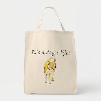 C'est la citation drôle d'art de chien de Jack Tote Bag