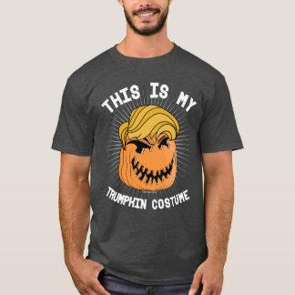 C'est mon costume de Trumpkin - rendez Halloween T-shirt