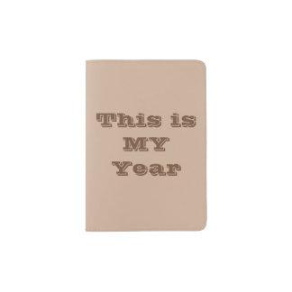 C'est MON support de passeport d'année Protège-passeport