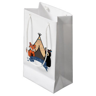 C'est sac de sacs/cadeau d'une faveur de garçon
