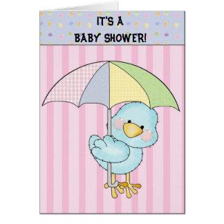 C'est un baby shower ! carte