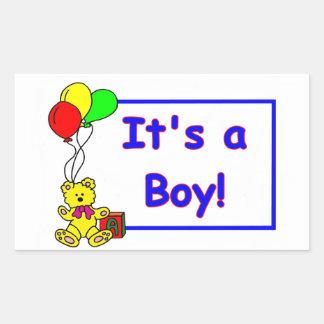 C'est un garçon ! Autocollant