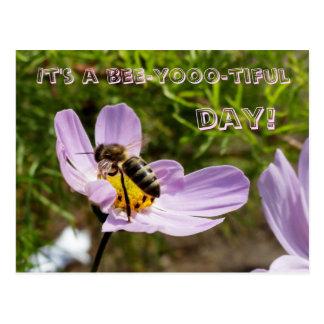 C'est un jour d'abeille-yooo-tiful ! /Abeille Carte Postale