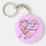 Cette fille peut danser le T-shirts et les cadeaux Porte-clef