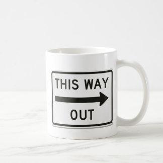 Cette tasse de sortie