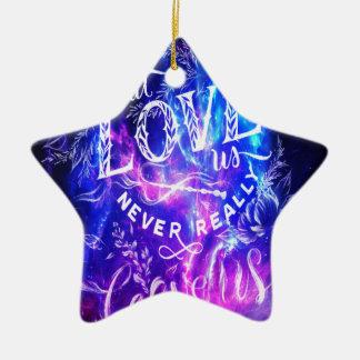 Ceux qui nous aiment améthyste rêve ornement étoile en céramique