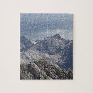 Chaîne de Karwendel dans les Alpes bavarois Puzzle