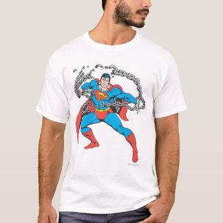 Chaînes 2 de coupures de Superman T-shirt