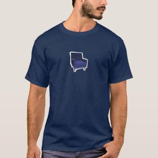 Chaise bleue t-shirt