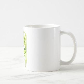chaise de chinoiserie pour la carte d'endroit mug