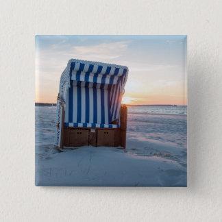 Chaise de plage badge carré 5 cm