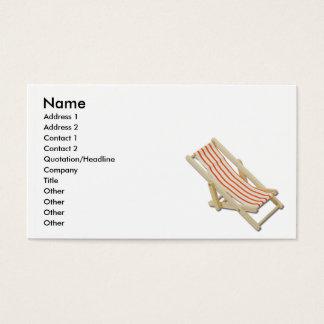 Chaise longue, nom, adresse 1, adresse 2, contact… cartes de visite