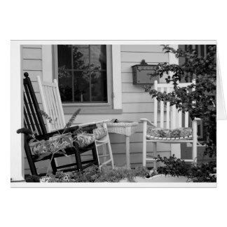Chaises de basculage carte