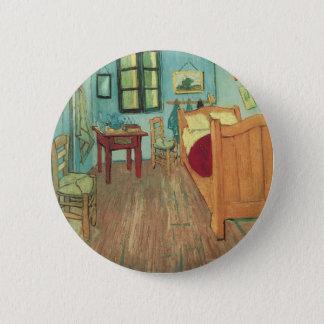 Chambre à coucher dans Arles par Vincent van Gogh Badge Rond 5 Cm
