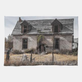Chambre abandonnée en Utah central Linge De Cuisine