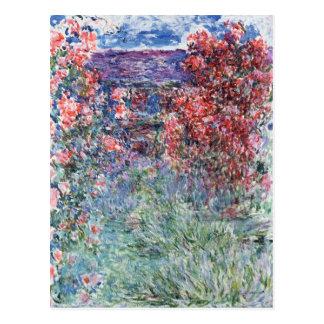 Chambre de Claude Monet | chez Giverny sous les Carte Postale