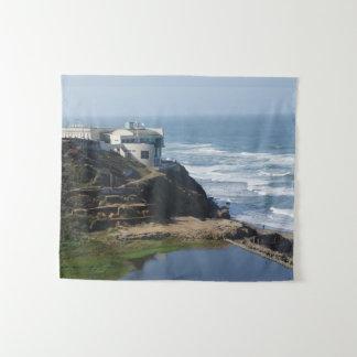 Chambre de falaise - San Francisco, tapisserie de