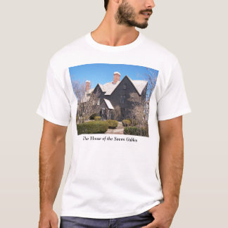 Chambre du T-shirt de Salem de sept pignons