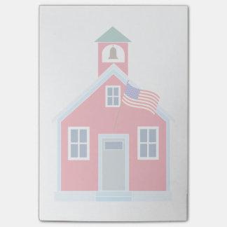 Chambre rouge d'école post-it®