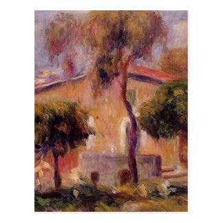 Chambres dans Cagnes par Pierre-Auguste Renoir Carte Postale