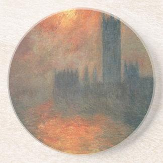 Chambres du Parlement, coucher du soleil par Dessous De Verres